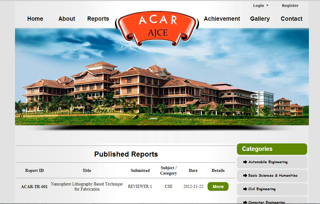 Technical Report Evaluation (ACAR)
