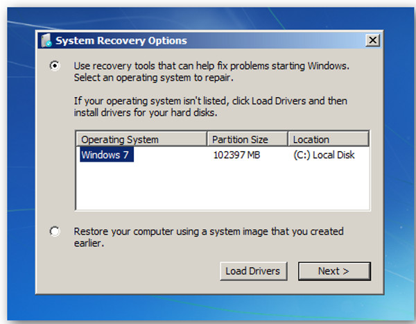 Windows Recovery 2