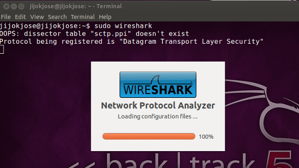 wireshark no interface 2