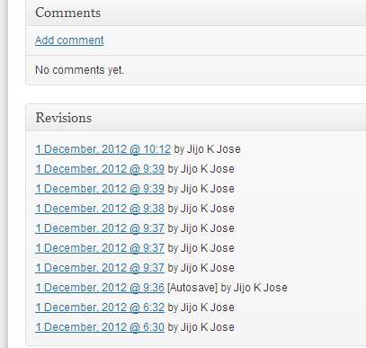 Delete WordPress Post Revisions 1