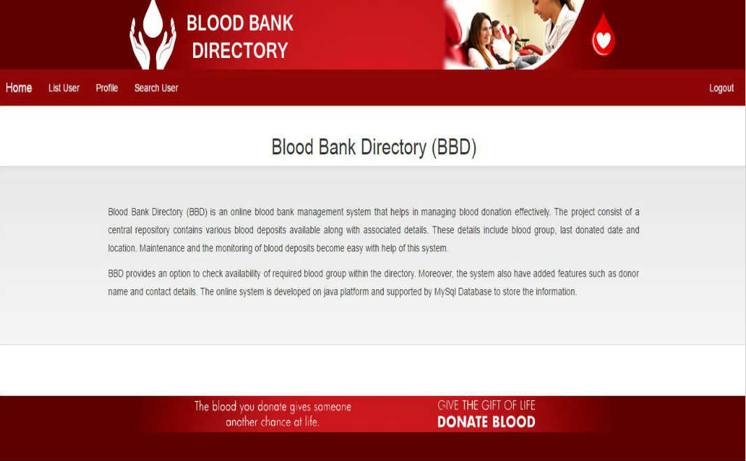 Blood Bank Directory (BBD)