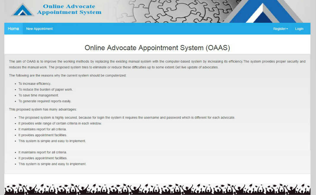 Online Advocate Appointment System (OAAS)
